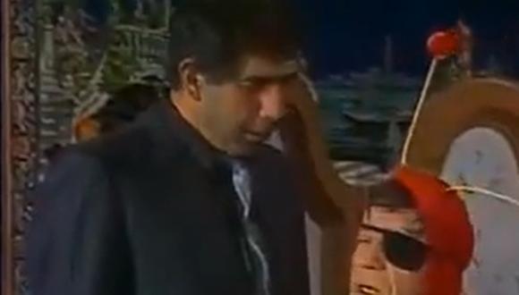"""Actor Rubén Aguirre realizó interpretó a diversos personajes, entre ellos al """"Shory"""" (Foto: captura de video)"""