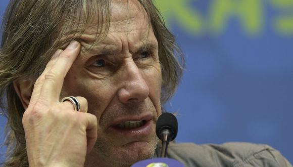 Ricardo Gareca hablará en conferencia de prensa. (AFP)