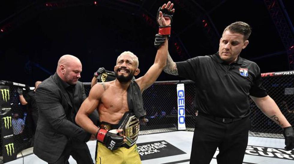 Deiveson Figueiredo, campeón de peso mosca. (UFC)
