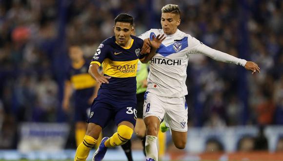 Boca Juniors y Vélez igualaron sin goles en el Fortín por una nueva jornada de la Superliga. (Twitter)