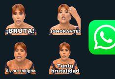 ¡Descarga gratis los stickers de WhatsApp de Magaly Medina!