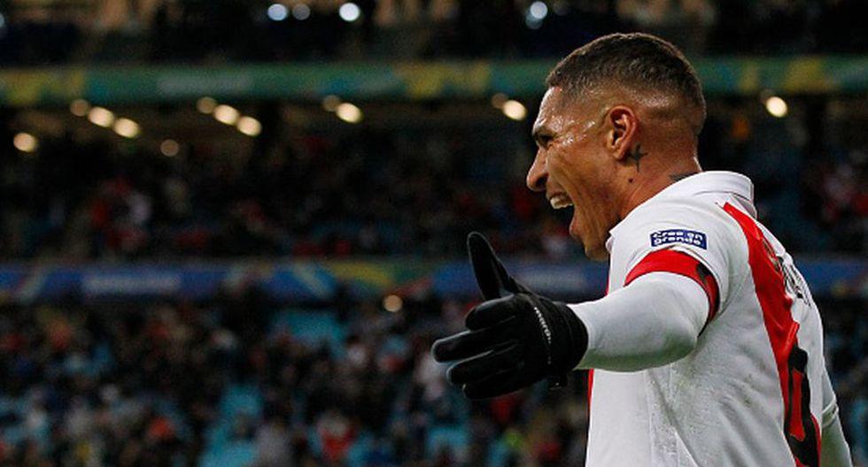 Paolo Guerrero suma dos goles en la Copa América 2019 (Getty)