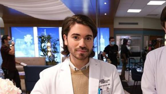"Noah Galvin interpreta a Asher Wolk en la cuarta temporada de ""The Good Doctor"" (Foto: ABC)"