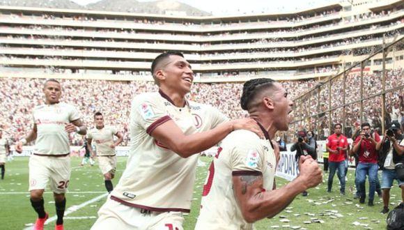 Universitario llevó más de 45 mil hinchas al clásico contra Alianza Lima. (Foto: GEC)