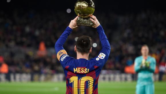 Lionel Messi tiene seis Balones de Oro en su carrera. (AFP)