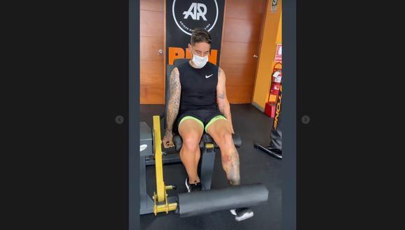 Alejandro Hohberg realiza trabajos físicos de cara a la  temporada 2021. (Foto: Instagram)