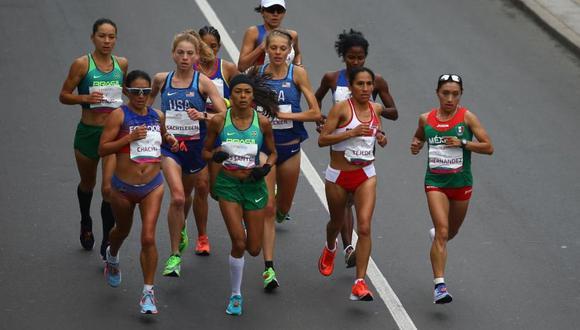 Gladys Tejeda pelea palmo a palmo por la medalla de oro en los Juegos Panamericanos. (Foto: Fernando Sangama)