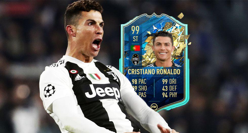 FIFA 20: Cristiano Ronaldo en el Equipo de la Temporada de la Serie A. (Foto: montaje)