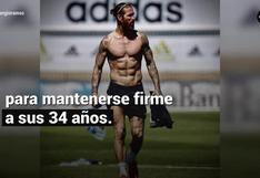 Conoce la rutina de ejercicios de Sergio Ramos para definir y ganar masa muscular