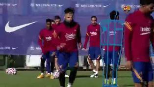 Barcelona realiza entrenamiento de recuperación tras la derrota en Madrid