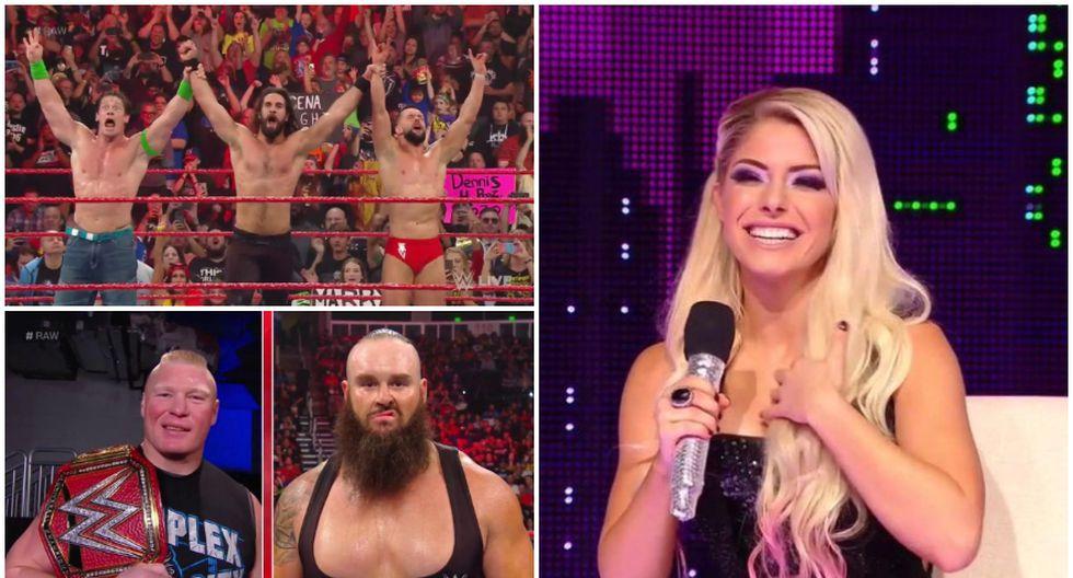 Repasa todos los resultados del RAW en Florida. (WWE)