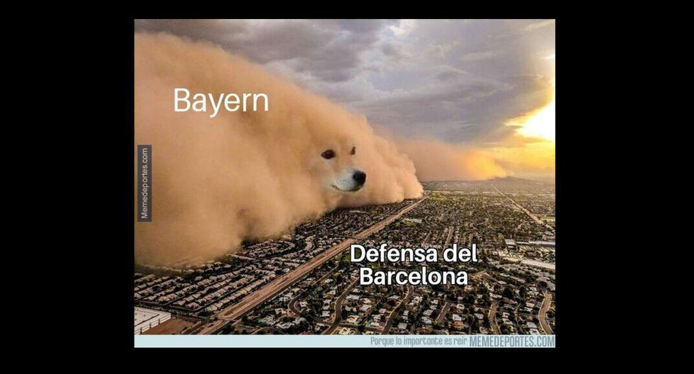 Los memes le pegan duro al Barcelona: las mejores reacciones tras el 8-2 ante Bayern en Champions. (Memedeportes)