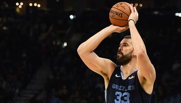 Marc Gasol dejará a los Grizzlies. (Getty Images)
