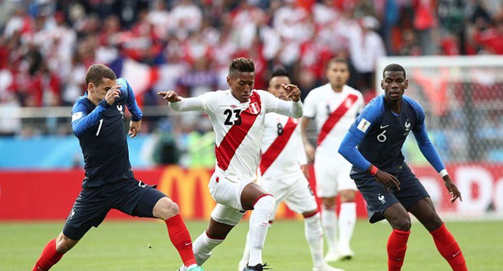 Perú y Francia solo se habían enfrentado en un amistoso en 1982. (Foto: Getty Images)