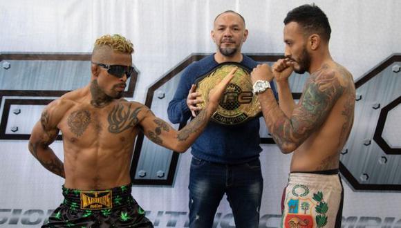 Rudy Gavidia enfrentará a Martín Mollinedo este sábado por el título de peso pluma. (FFC)