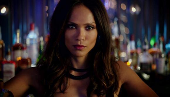 "© Fox  Lesley-Ann interpreta a Mazikeen en la serie ""Lucifer"" (Foto: Netflix)"