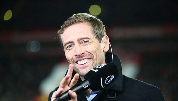 Peter Crouch se retiró del fútbol profesional el año pasado con 38 años de edad. (Getty Images)