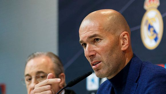Zinedine Zidane levantó tres Champions League con Real Madrid. (Getty)