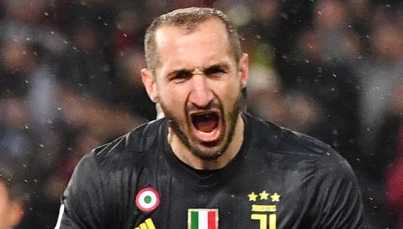Giorgio Chiellini renovó contrato con Juventus hasta el 2023. (Foto: AFP)