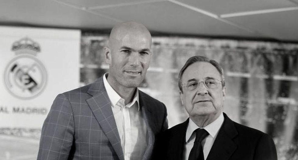Zidane volvió a Real Madrid en marzo de este año en lugar de Solari. (AFP)