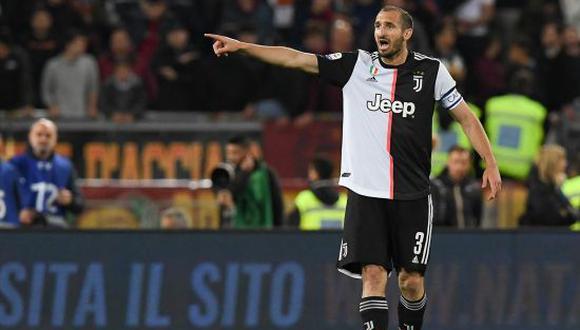 Giorgio Chiellini culminará su contrato con la Juventus de la Serie A en verano del 2023. (Foto: Getty)