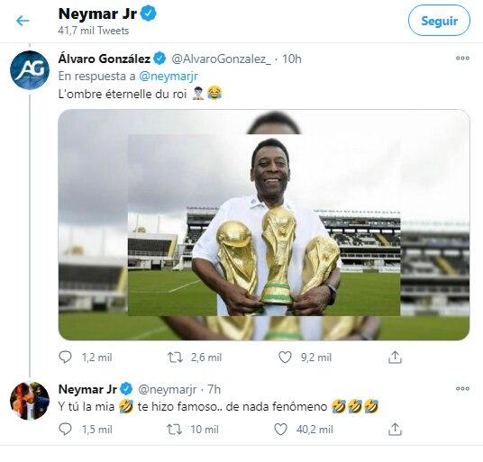 (Foto: Twitter Neymar)
