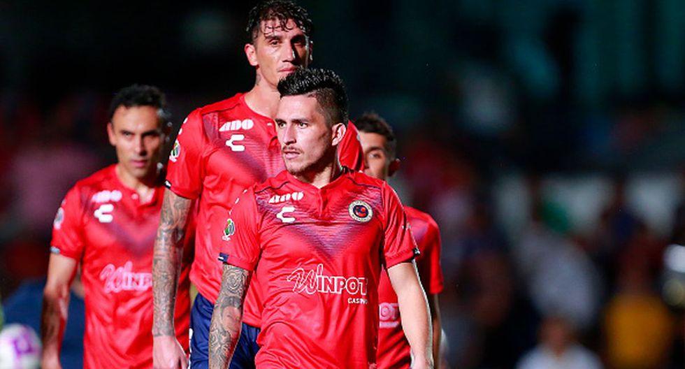 Veracruz ganó solo un partido de 18 en el Apertura 2019. (Getty)