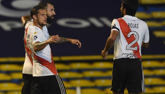 Robert Rojas marcó el primer gol del partido para River Plate. (Foto: River Plate)