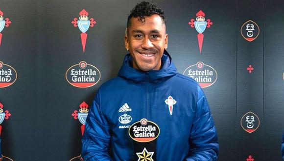 Renato Tapia llegó al Celta de Vigo a costo cero desde Países Bajos. (Foto: @RCCelta)