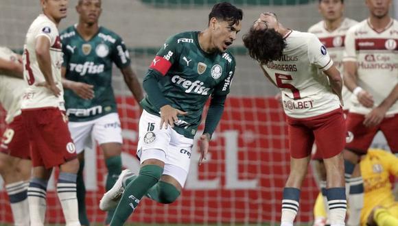 Universitario cayó 6-0 ante Palmeiras en 2021. (Foto: Agencias)