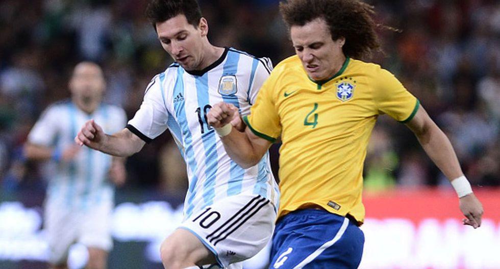 David Luiz cambió de equipo esta temporada, dejó el Chelsea y se pasó al Arsenal. (Getty Images)