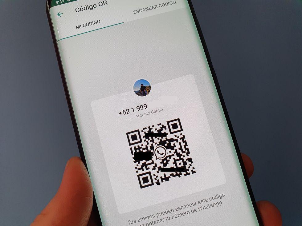 El código QR para los contactos es una novedad de WhatsApp. (Foto: captura)