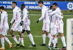 Hazard anotó: Real Madrid goleó al Alavés por LaLiga Santander 2020-21