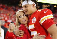 Su motor y motivo: Patrick Mahomes, estrella de los Kansas City Chiefs, anunció el nacimiento de su hija