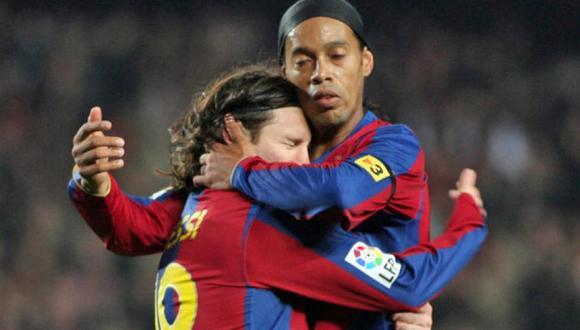 Lionel Messi lamentó el fallecimiento de la madre de Ronaldinho Gaúcho. (Foto: AFP)
