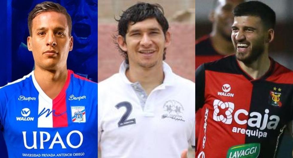 Jugadores que volvieron a Perú para jugar la Liga 1. (Foto: Facebook / Liga 1)