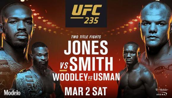 El UFC 235 se desarrollará en el T-Mobile de Las Vegas. (UFC)