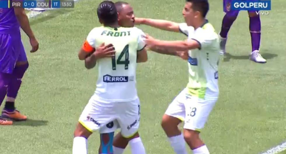 Por poco es 'blooper': el gol del 'Zorrito' Aguirre para el 1-0 de Piratas ante Comerciantes Unidos por Liga 2 [VIDEO]