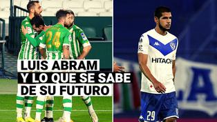 Días cruciales: Luis Abram y lo que se sabe de su futuro en Vélez Sarsfield
