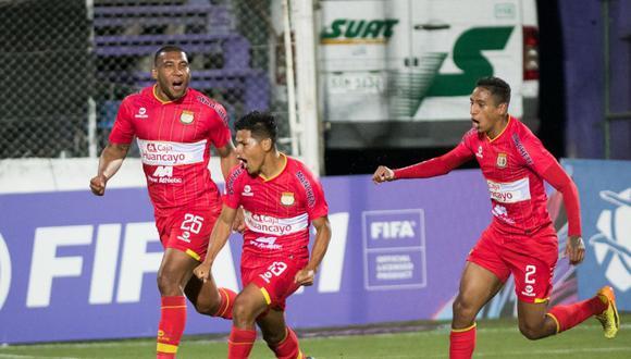 Sport Huancayo le ganó a Liverpool en Uruguay. (Foto: Agencias)
