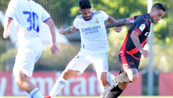 Real Madrid sumó su segundo duelo amistoso en Valdebebas. (Foto: Rayo Vallecano)