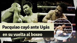 Pacquiao vs. Ugás: Estos fueron los mejores momentos de la pelea por el título AMB