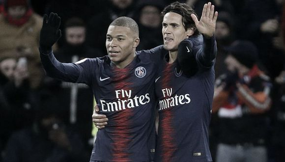 PSG descarta a Kylian Mbappé y a Edinson Cavani para el debut por la Champions League en Francia. (Foto: Getty Images)