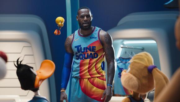 En esta oportunidad tendremos a la estrella de la NBA y Los Ángeles Lakers, LeBron James, en una nueva aventura. (Foto: Warner Bros)