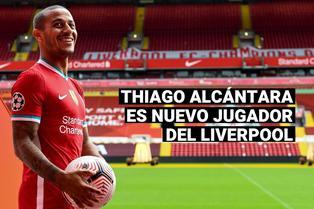 """Thiago Alcántara llega al Liverpool: """"Mi decisión es puramente deportiva"""""""