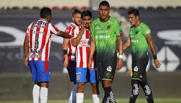 Chivas marcó su primer gol en el Torneo Guard1anes después de 326 minutos.
