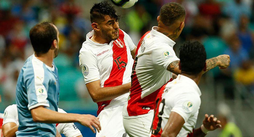 Copa América   Carlos Zambrano - Perú (Foto: Getty Images)