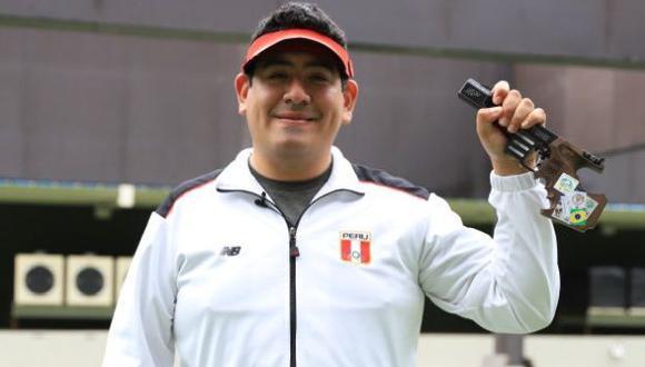 Marko Carrillo en Tokio 2020: peruano buscará su pase a la final este domingo en la modalidad de pistola 25 metros (Foto: IPD)