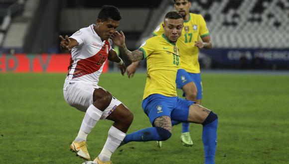 Raziel García jugó 82 minutos en la Copa América (Foto: AP)
