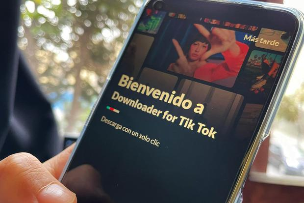 This is one of the applications where you can download TikTok without a watermark and completely free of charge.  (Photo: MAG)